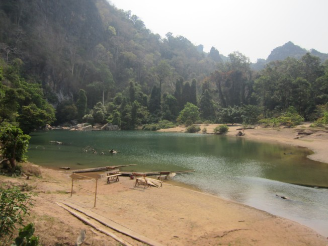 River Outside Kong Lo Cave