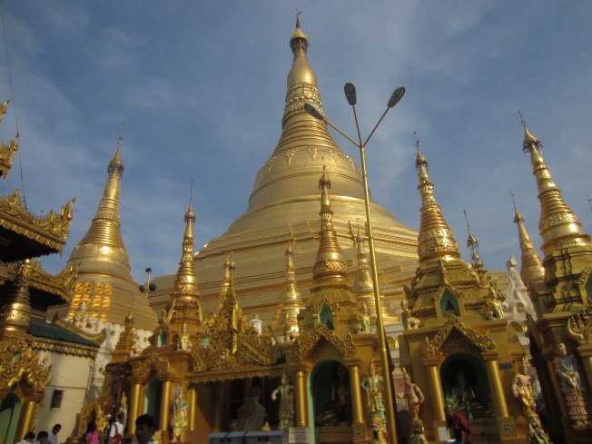Schwedgon Pagoda, Great Dragon Pagoda, Golden Pagoda