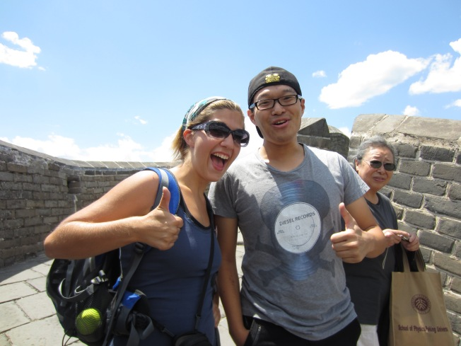 Michigan Alum on the Great Wall