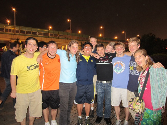 Michigan Men's Glee Club in China