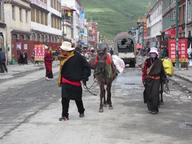 Main street Tagong