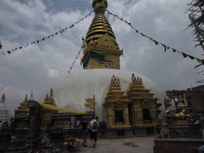 Swayambhunath, a unique temple complex that blends both Buddhism and Hinduism